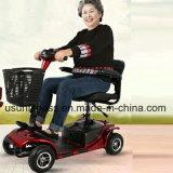 Motorino elettrico piegante di mobilità con il sistema intelligente per gli anziani