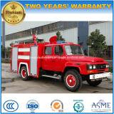 4X2 Dongfeng 6 M3 물 화재 싸움 탱크 2 M3 거품 화재는 트럭을 진화한다