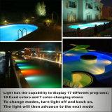 18X3w 수영풀 수중 플라스틱 램프와 수영풀 LED 점화