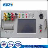 Transformador no verificador dos parâmetros do cambiador de torneira da carga