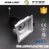 UL CRI90 rotondo IP65 Dimmable LED Downlight di RoHS del Ce di alta qualità
