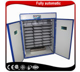 La volaille électrique approuvée de la CE penchent l'incubateur d'oeufs avec le détecteur d'humidité