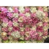 Rosas artificiales de Decoracion del partido del hogar de la pared de la flor Wedding la decoración