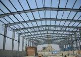 Marché commode de structure métallique de construction de bonne qualité