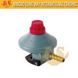 Régulateur de gaz de clapet à gaz avec le commutateur de blocage d'enfant