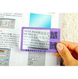 Hw-802A 86 * 53mm PVC Taille de la carte de crédit Magnifier 3X 6X Taille promotionnelle de la carte de crédit Loupe