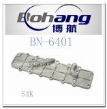 Bonaiエンジンの予備品の幼虫S4KオイルクーラーカバーBn.6401