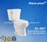 Toilettes en deux pièces en céramique de cabinet d'aisance d'articles sanitaires (DL-007)