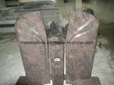 Grafstenen van het Graniet van Himalayagebergte de Blauwe met Grafstenen Unquie