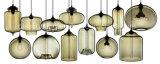 Weinlese-Farben-kreative Funktionseigenschaft-hängende Glaslampe für Gaststätte-Dekoration