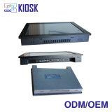 5本のワイヤーCapacitivetouchスクリーンが付いている埋め込まれた産業パネルのコンピュータ