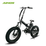 """48V10Ah Motor de 500 W motocicleta eléctrica de 20"""" pulgadas neumático Fat plegable Bicicleta eléctrica"""