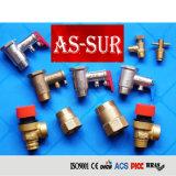 Liberación de latón de alta presión/reducción de la válvula de aire acondicionado