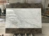 2m de largeur de marbre de couleur blanche pour l'intérieur du panneau alvéolé Facading mural