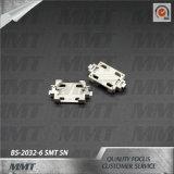 Cr2032 Doos BS-2032-6 van de Batterij van de Houder van de Batterij Sn SMT