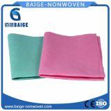 Wipe non tessuto stampato di Microfiber del fornitore non tessuto del tessuto di Microfiber