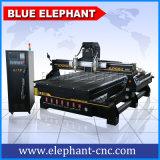 Multi macchina per la lavorazione del legno del router di CNC della testa Ele1530-2 dall'elefante dell'azzurro di CNC