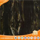Черным плитка пола фарфора цвета застекленная Inkjet мраморный (JM63136D)