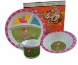 Меламином детская игровая площадка детей пластических масс для кормления свиней чашу/Детский стул для кормления