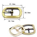 衣服のための熱い販売の金属亜鉛合金の中心棒バックルPinのベルトの留め金は蹄鉄を打つハンドバッグ(Yk748)に
