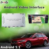 オンラインGoogle/Wazeのマップを持つマツダ6のためのアンドロイド5.1インターフェイス車GPSの運行ボックス