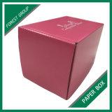 Contenitore ondulato riciclato personalizzato di scatola di trasporto con stampa di colore