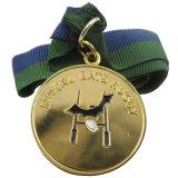 リボンが付いている昇進のマラソンのスポーツ賞Medillion