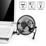 Ventilateur personnel de câble usb de l'exécution 4inch de Quiet de modèle en métal de ventilateur de mini d'USB bureau de Tableau