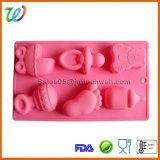 工場卸し売り赤ん坊のツールの石鹸のためのハンドメイドのシリコーン型