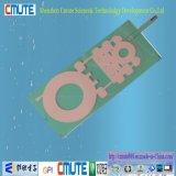 Telclado numérico puesto a contraluz EL del interruptor de membrana