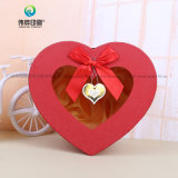 Geschenk-Pappgroßes Inner-geformter Blumen-Kasten Guangzhou-Manufaturer hochwertiger leerer mit Fenster
