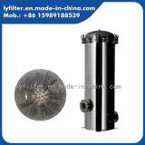 Grosses Wasser ermäßigt Filterkasten-dem Gehäuse von des Edelstahl-10t-100t/H mit Material 316