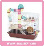 Cage de luxe de maison de hamster cage de toute neuve de hamster
