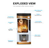 가격 동전에 의하여 운영하는 최신 커피 자동 판매기 F303V&#160에 새로운;