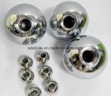 3mm 6mm 8mm 9mm 10mm 26mm 30mm agujero roscado de bolas de acero inoxidable con tornillo M3