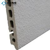 Tuile gris-clair de terre cuite de mur rideau pour la décoration