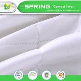 マットレスの保護装置カバーテリー布の防水柔らかいシーツのクイーンサイズの白