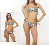 Minimale Ordnungs-kundenspezifische Schwimmen-Abnützung-Bikini-Badebekleidung