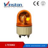 Luzes de advertência amarelas pequenas de Lte-5082j 5W com campainha eléctrica