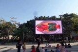 壁(P10-960*960mm)の曲げられたLED表示印を広告する屋外のビデオ