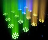 Bewegliches Hauptlicht der Fabrik-Großverkauf-12X10W RGBW des Vierradantriebwagen-LED für Wand-Unterlegscheibe mit Cer