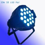 Горячая продажа этап DJ 18X10W 4в1 LED PAR лампа Can