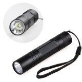 Heiße verkaufennachladbare LED Fackel-Taschenlampe der Leistungs-
