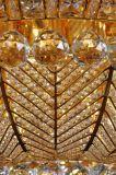 Moderne Luxuxkristalldeckenleuchte mit Glasdekoration