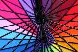 Parapluie droit de traitement incurvé par arc-en-ciel automatique d'Open&Close 24K