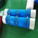 La formación de tejido de poliéster