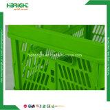 Engradado de armazenamento de produtos hortícolas frutas Cesta de dobragem de plástico