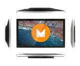 Montaje de la pared del LCD que hace publicidad de la pantalla táctil multi de la visualización