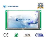 6.2 TFT LCD de pouce 800*480 avec le contact résistif Screen+RS232