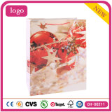 Подарка искусствоа шарика благодарения способа мешки красного Coated бумажные